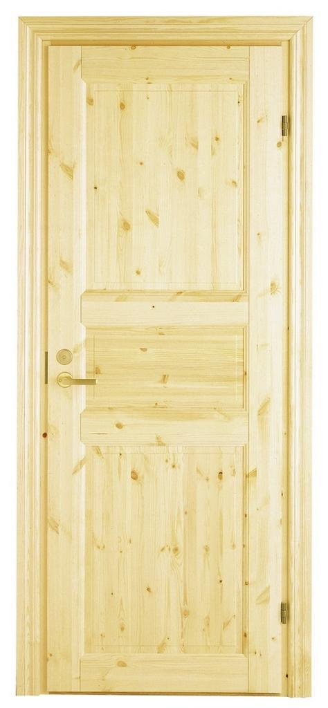 дверь входная филенчатая из сосны